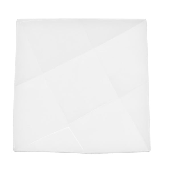 Crystal Super White Square Salad Plate(QZT-8)
