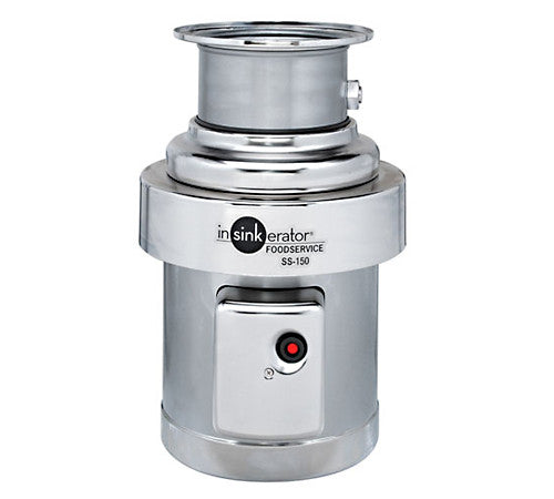 InsinkErator Food Service 1-1/2 HP Commercial Disposer-SS-150
