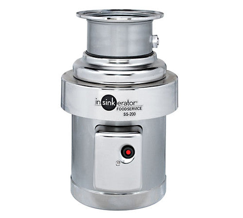 InsinkErator Food Service 2HP Commercial Disposer Package- SS-200-7-MRS