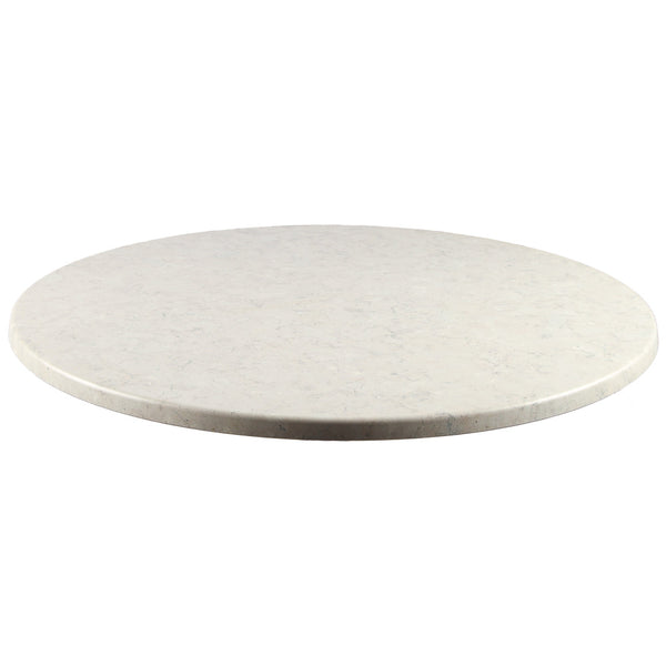 Round Wood and Resin Table Top, Stone