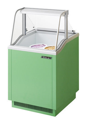 Turbo-Air  4 (3 gallon) Display Ice Cream Dipping Cabinet- TIDC-26G