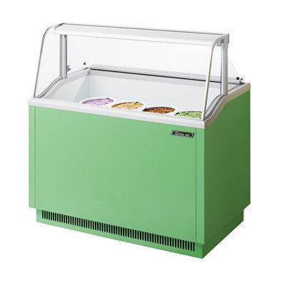 Turbo-Air Ice Cream Dipping Cabinet, 8 Display/ 5 Storage Capacity- TIDC-47G