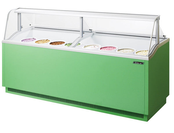 Turbo-Air Ice Cream Dipping Cabinet, 16 Display/ 12 Storage Capacity- TIDC-91G