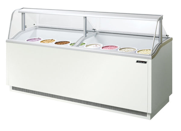 Turbo-Air Ice Cream Dipping Cabinet, 16 Display/ 12 Storage Capacity- TIDC-91W