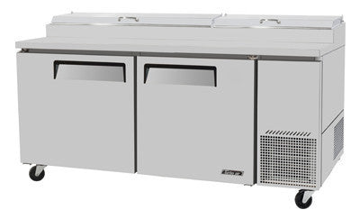 Turbo-Air Pizza Prep Table, Refrigerated Counter- TPR-67SD