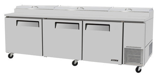 Turbo-Air  Pizza Prep Table, Refrigerated Counter- TPR-93SD