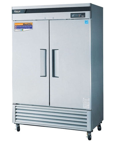 Stainless Steel 2 door reach-in freezer