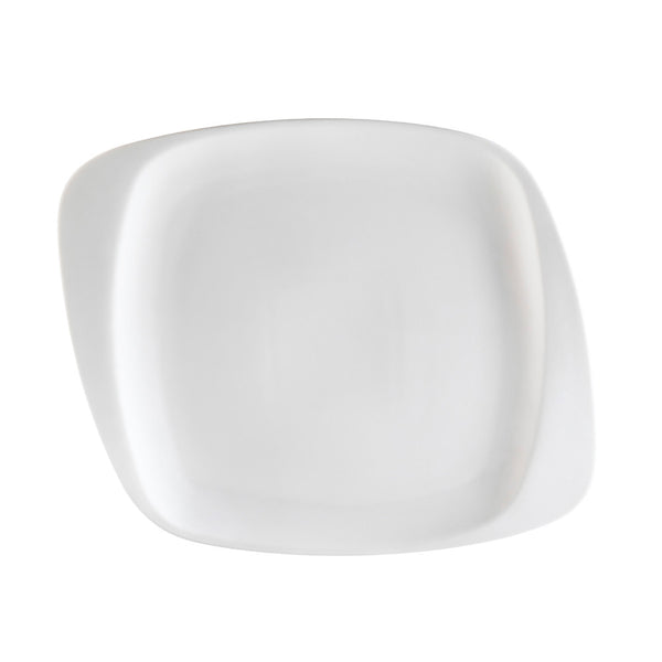 White Pearl Bone White Square Dinner Plate (WH-9) (24/pcs)