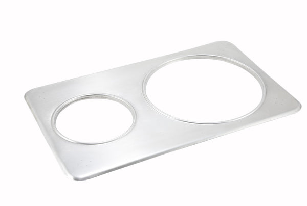 Adapter Plate, Two Hole, Stainless Steel