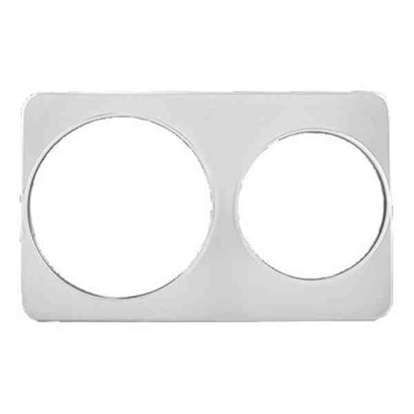 Adapter Plate, two holes fit's 7&11qt. baine marie pots