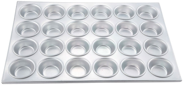 (24) 3 oz. Cup Capacity Muffin Pan
