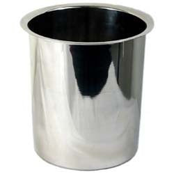 6qt. Bain Marie Pot, S/S, Mirror Finish