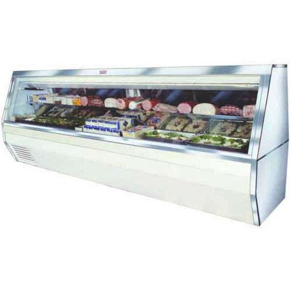 Howard McCray Refrigerated Display Case Curved Glass-SC-CDS32E-8C-LS