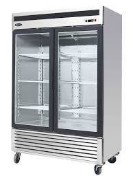 Atosa 2 Door Glass Merchandiser Freezer- MCF8703