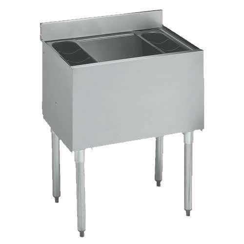 "Insulated Ice Bin 18.5"" x 30"" x 30""H, All Stainless Steel"