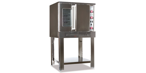 Therma-Tek  Single Deck Full Size Gas Convection Oven- MGFCO-1S