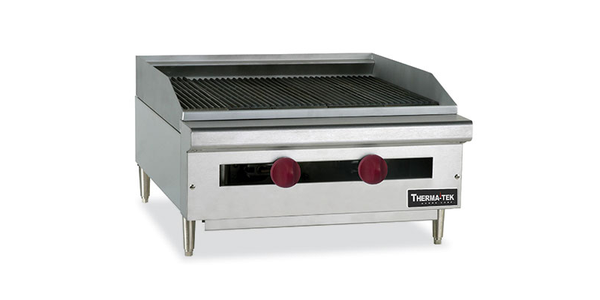 "Therma-Tek 36"" Radiant Char-Broiler Gas Heavy Duty- TC36-36RB"