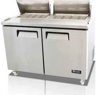 Migali Refrigeration, Mega Top Sandwich Prep Unit- C-SP60-24BT