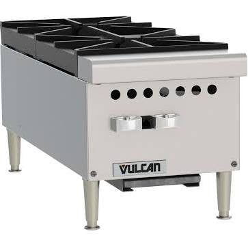 "Vulcan Commercial 12"" Gas Hotplate- VCRH12"