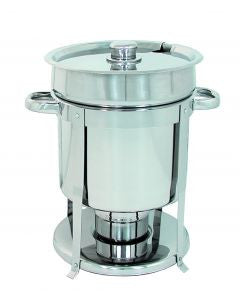 7qt. s/s chafer-style soup warmer