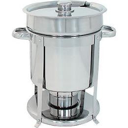 11 quart S/S Chafer-Style Soup Warmer