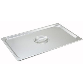 1/1 Solid cover w/handle, For steam table pan