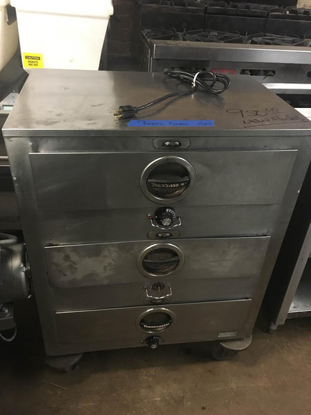 Used Toastmaster 3 Drawer Warmer