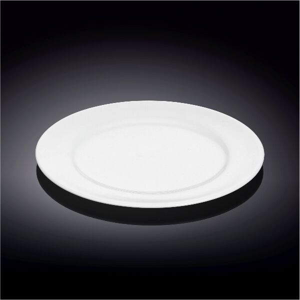 Dessert 8 Inch Plate Durable Porcelain(Wilmax) 48 Pieces