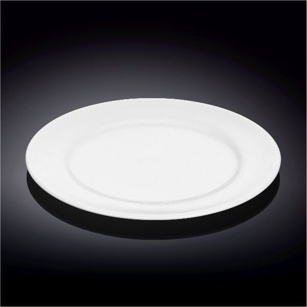 Dinner 10 Inch Plate Durable Porcelain(Wilmax) 24 Pieces