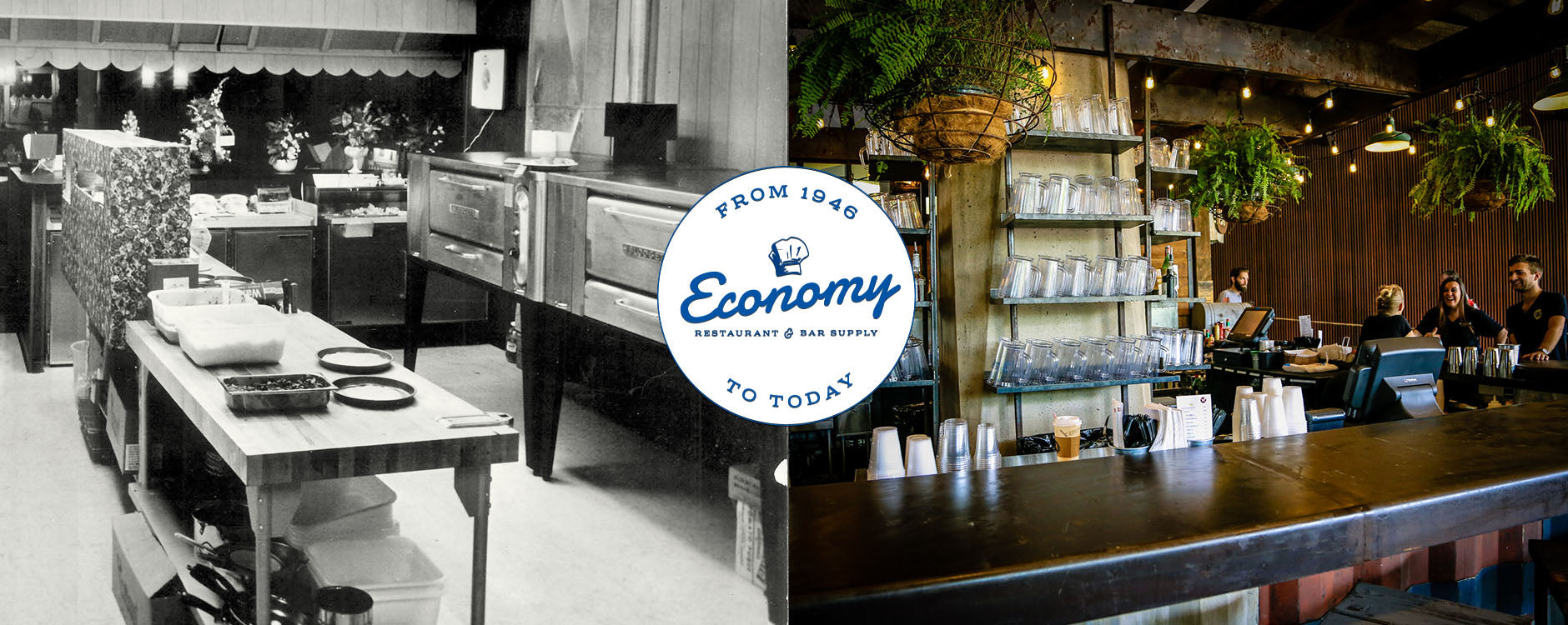 Since 1946 Economy has transformed and supported establishments with quality restaurant supplies and equipment.