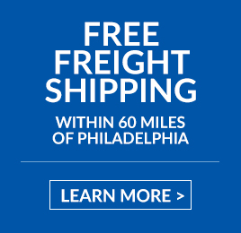 Free Freight Shipping Within 60 Miles of Philadelphia