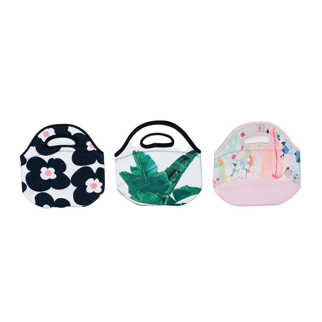 NEOPRENE LUNCH BAG - JUNGLE