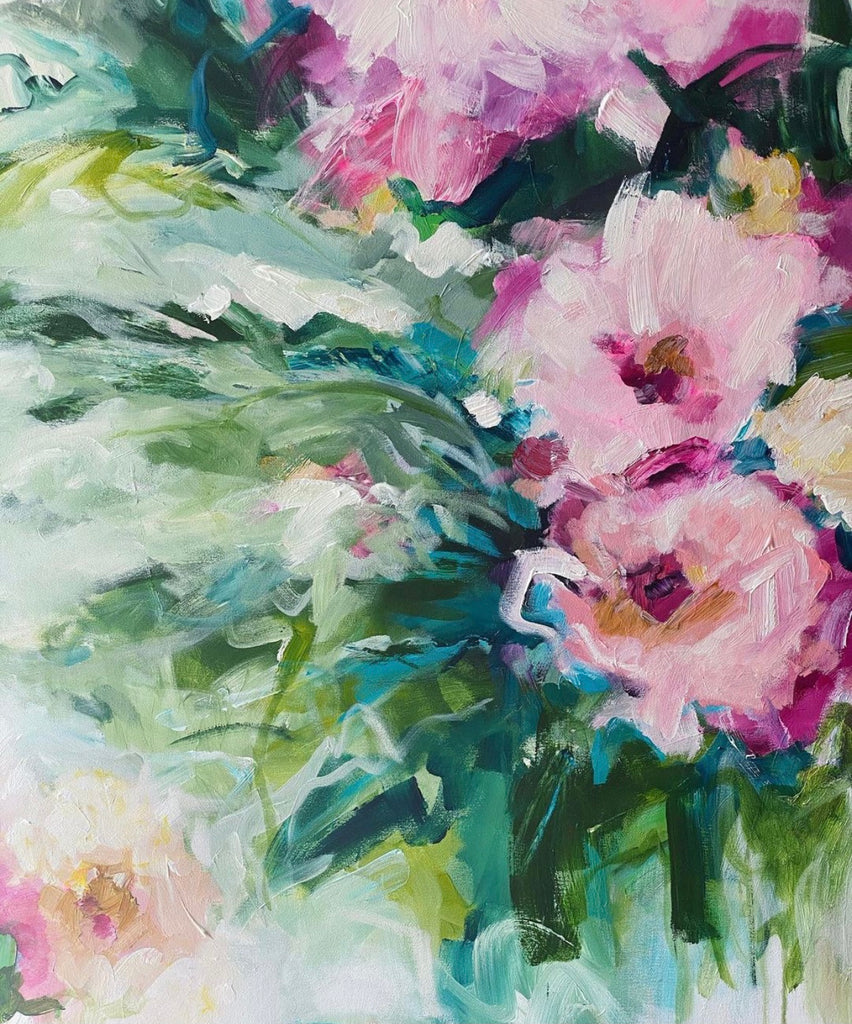 'In Full Bloom' Original Painting by Camilla Cicoria