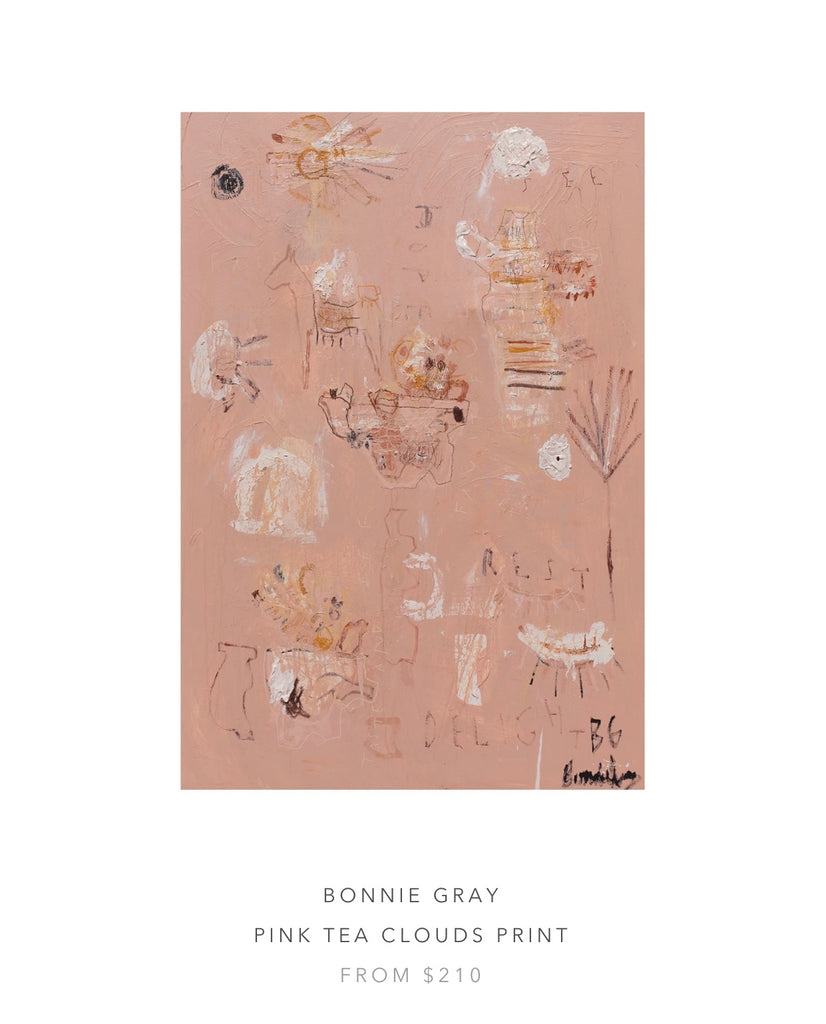 Pink Tea Clouds- Sunset and Sunrises Prints by Bonnie Gray