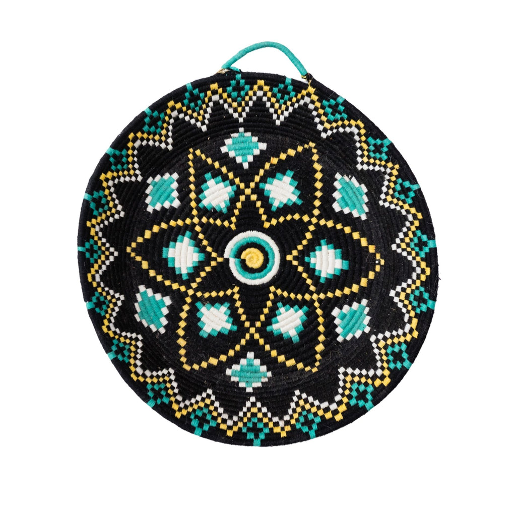 Love Moroccan Rugs - Berber Plate - Charcoal - Melbourne - Mount Martha