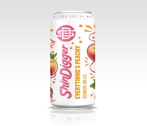Shindigger Everything's Peachy 4.2% 440ml