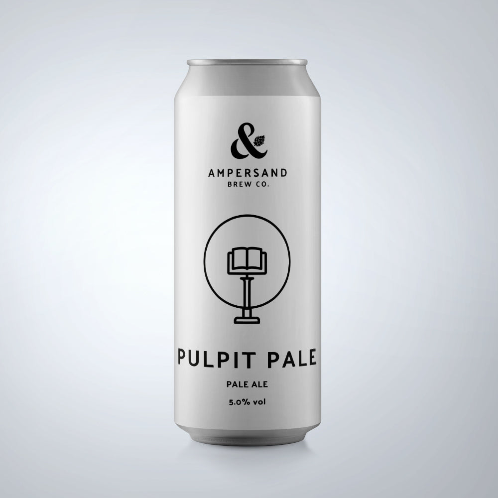 Ampersand Pulpit Pale 5% 440ml