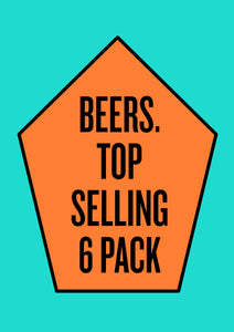 Top Selling Beers (6-Pack)