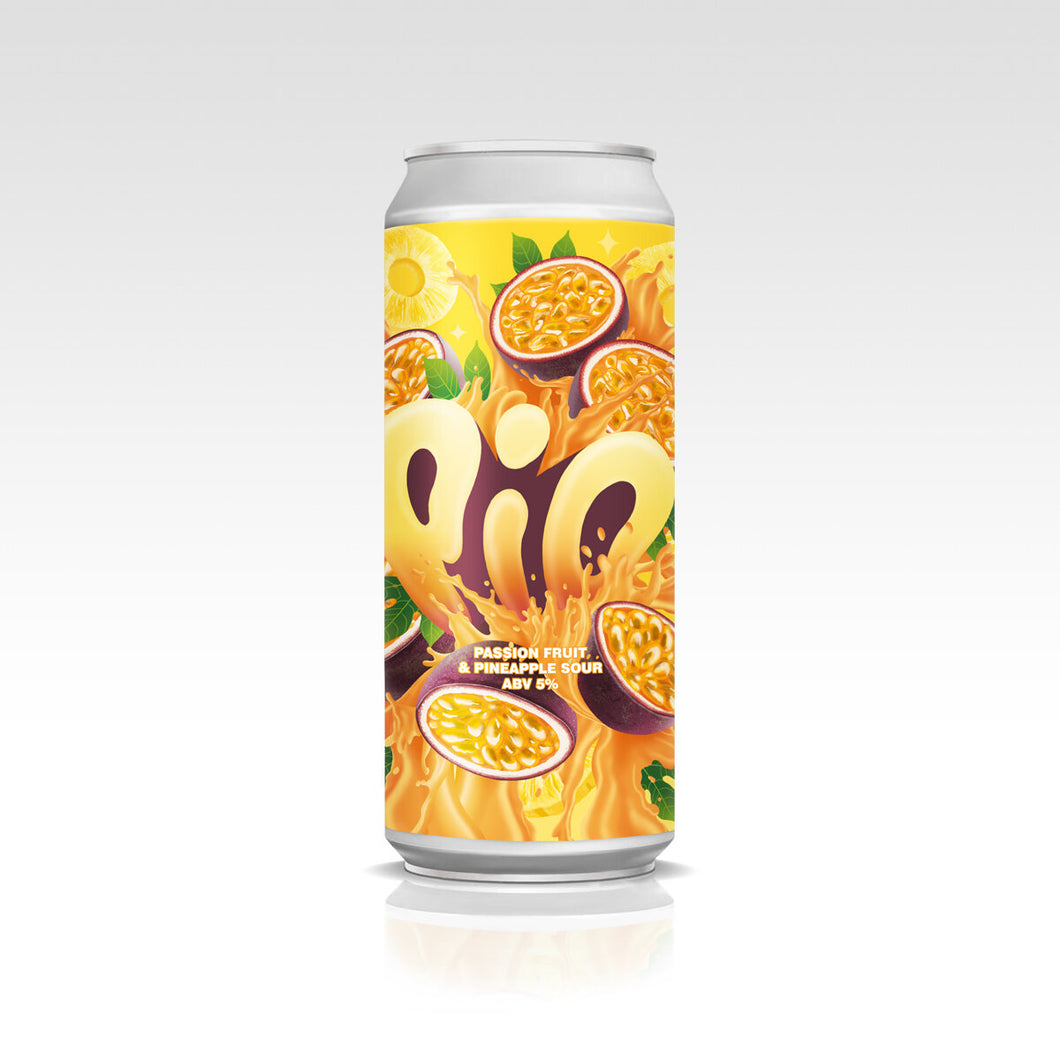 Shindigger Passion Fruit & Pineapple Sour | Pio 5% 440ml