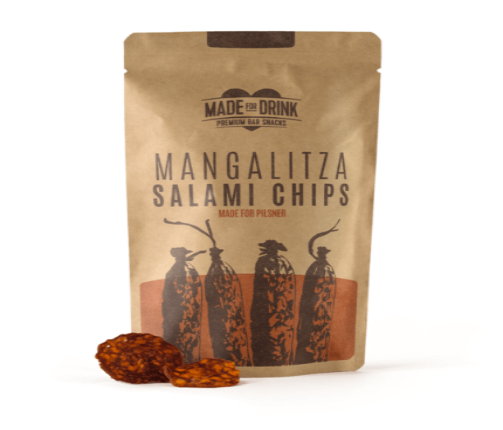 Made For Drink Mangalitza Salami Chips 23g
