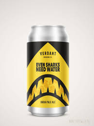 "Verdant ""Even Sharks Need Water"" NEIPA 6.5% 440ml"