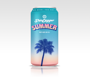 Shindigger Summer Fruity Lager 4.8% 440ml
