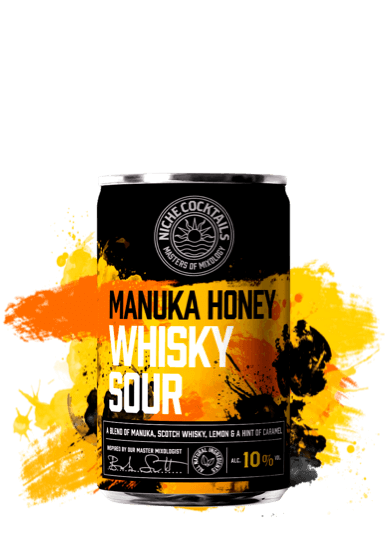 Niche Cocktails Manuka Honey Whisky Sour 10% 150ml