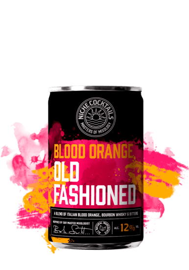 Niche Cocktails Blood Orange Old Fashioned 12% 150ml