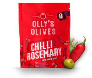 Olly's Olives Chilli & Rosemary 50g