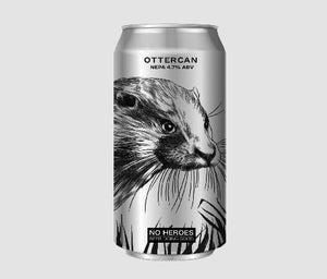 No Heroes OtterCAN New England Pale 4.7% 440ml