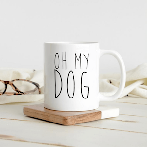 Oh My Dog Coffee Mug Gift