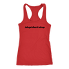 Adopt Don't Shop Tank Top Next Level Racerback Tank Woofingtons