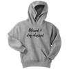 Blessed & Dog Obsessed Youth Hoodie Youth Hoodie Woofingtons