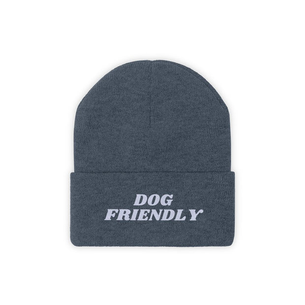 Dog Friendly Knit Beanie-Apparel-Millennium Blue-Woofingtons
